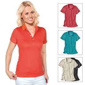 Damen-Poloshirt Cafe Base Rea Polo