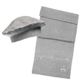 Mütze Snow hellgrau