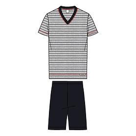 Pyjama Teak grau Gr.46/48