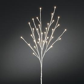 LED-Lichterbaum weiß, H 100 cm