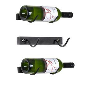 Wand-Weinregal SOLO aus Metall