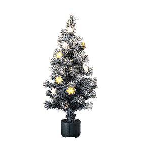 LED-Fiberoptik-Baum H 90 cm