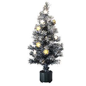 LED-Fiberoptik-Baum H 120 cm