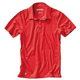 Herren-Poloshirt Active Dry Paco rot