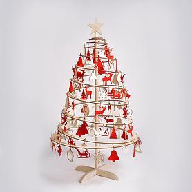 Holz-Weihnachtsbaum