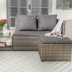 Lounge-Set Loft grau