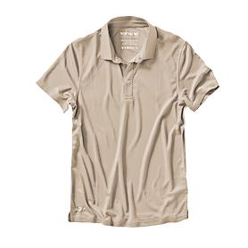 Poloshirt Cafe Base Rea Polo sand