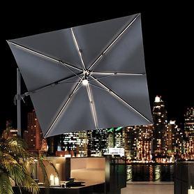 LED-Solar-Sonnenschirme