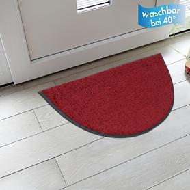 Fußmatte Halbrund 50 x 75cm, waschbar