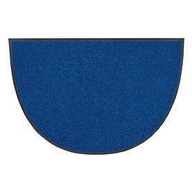 Fußmatte Halbrund, royalblau, 50 x 75 cm