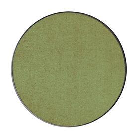Fußmatte Rund, waschbar, olivgrün, D 85 cm
