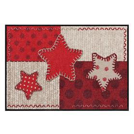 Fußmatte Patch Star 50 x 75 cm