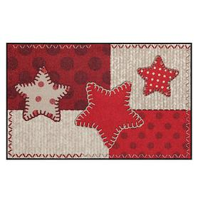 Teppichläufer Patch Star 75 x 120 cm