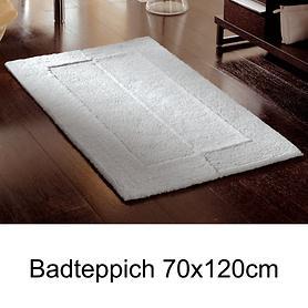 Badteppich 'Havanna' silbergrau 70x120cm