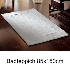 Badteppich 'Havanna' silbergrau 85x150cm