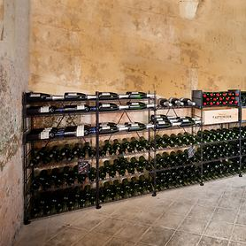 Metall-Weinregal LE CAVE