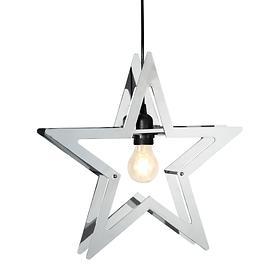 Leuchtstern Stella silber