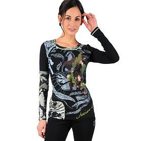 Designer-Langarmshirt