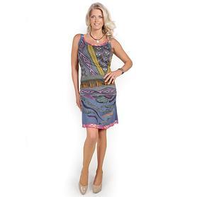 Designerkleid mit Bolero Postitano
