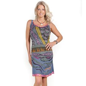 Designerkleid mit Bolero Postitano Gr.38