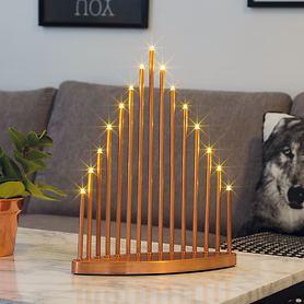 design-led-leuchter-pyramid-kupferfarben-lackiert