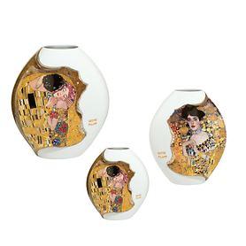 Porzellanvasen Klimt
