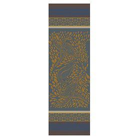 TischläuferAnhinga Bleu Dore 55 x 175 cm