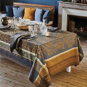 Tischwäsche Anhinga Bleu Dore