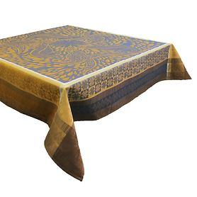 Tischdecke Anhinga Bleu Dore 175 x 175 cm