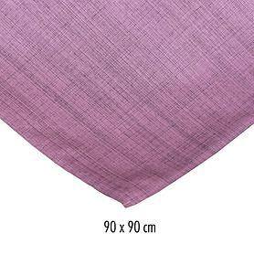 Tischdecke Outdoor 90x90 rosa-meliert