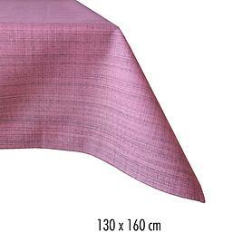 Tischdecke Outdoor 130x160 rosa-meliert