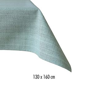 Tischdecke Outdoor 130x160 mint-meliert