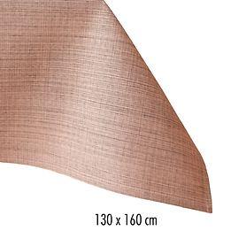 Tischdecke Outdoor 130x160 lachs-meliert