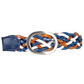 Flechtgürtel 'Allegra', blau, Gr. 85 | Accessoires > Gürtel > Flechtgürtel