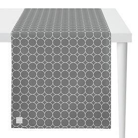 Tischläufer Outdoor grau/stein L:135 x B:46cm