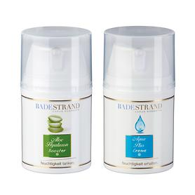 Feuchtigkeits-Hautpflege