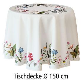 Tischdecke Sommer D:150cm