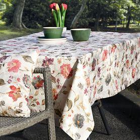 Tischdecke/Tischläufer Blumen