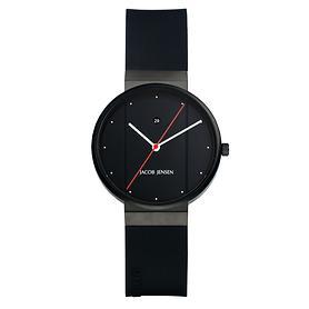 Damen-Armbanduhr Jacob Jensen schwarz