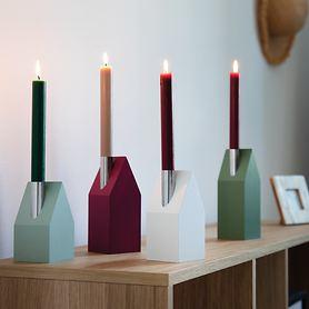 Kerzenhäuser, 4er-Set
