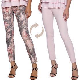 Jeans Floral Gr. S