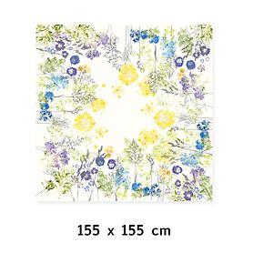Tischdecke Fleurs champetres 155x155cm