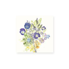 Servietten 45x45cm Fleur Champetres