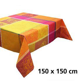 Tischdecke Mille holi epices 150 x 150cm