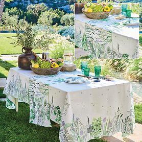 Tischgarnitur Jardin aromatique floraison
