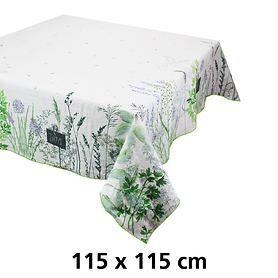 Tischdecke 115 x 115cm Jardin aromatique floraison