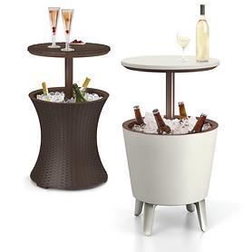 Partytisch Cool Bar in weiß oder mocca