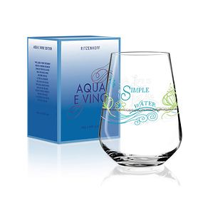Wasser- und Weinschorleglas Aqua e Vino Glas Nr. 1