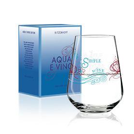 Wasser- und Weinschorleglas Aqua e Vino Glas Nr. 2
