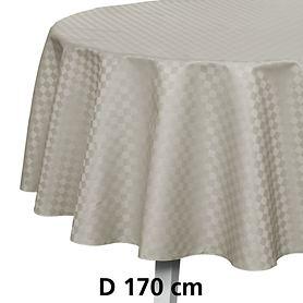 Tischdecke Casa silber D 170